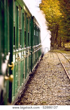 End Of World Train (tren Fin Del Mundo), Tierra Del Fuego, Argentina