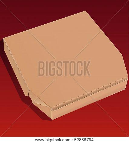 Cardboard Pizza Box