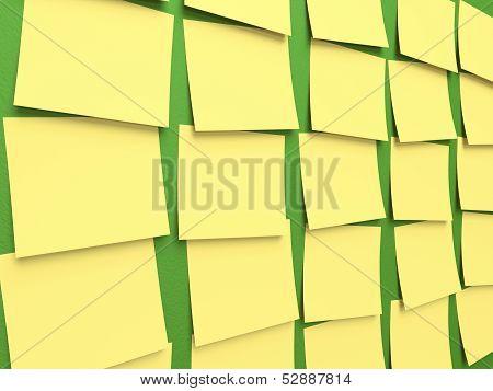 Sticky Note Blackboard