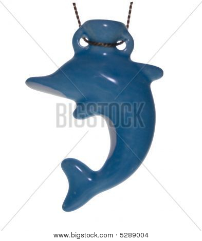 Vessel For Oil In The Form Of A Dolphin