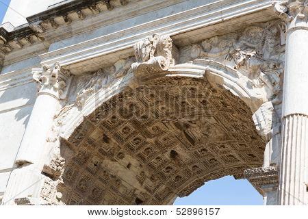 Arch Of Titus Up Close
