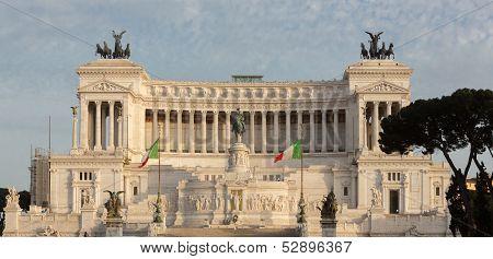 Italian Parliament Straight On