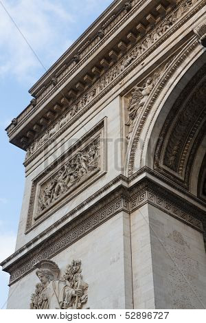 Arc De Triomphe, Close Portrait