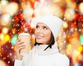 stock photo of takeaway  - winter - JPG
