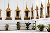 Phra Tinang Aporn Phimok Prasat Pavillion in the Grand Palace in Bangkok