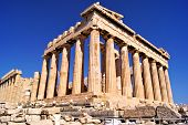 picture of akropolis  - The ancient Parthenon - JPG