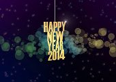 stock photo of backround  - Happy New year text in abstract backround - JPG