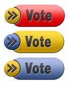 vote for elections free election for new democracy local national voting or choose your favorite win