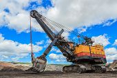 Electric Shovel In Lignite Mining