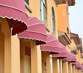 stock photo of awning  - awnings - JPG