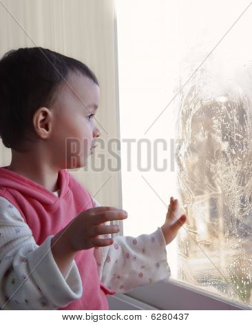 Girl And The Window