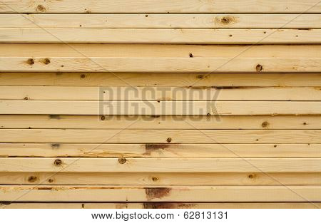 Wooden 2 x 4 Stacked