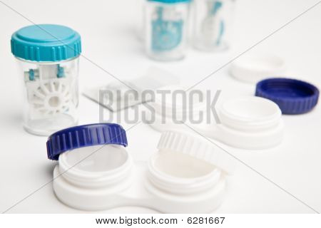 Set Of Contact Lens Cases