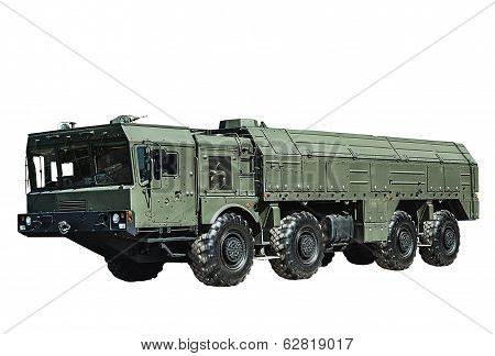 Iskander-m Missile, Equipped With A New Cruise Missile R-500