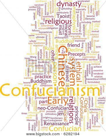 Confucianism Word Cloud