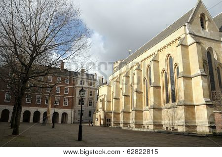Chapel, Middle Temple, Inns of Court, London