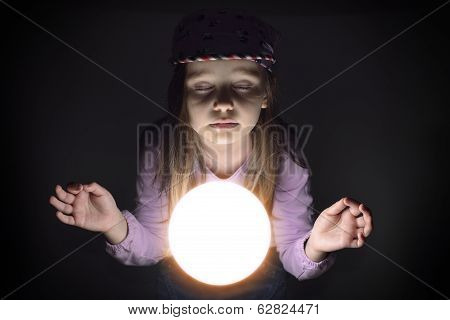 Young Gypsy Fortune Teller