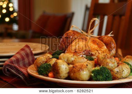 Türkei Abendessen