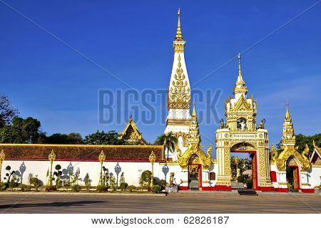 Phra That Phanom And Blue Sky