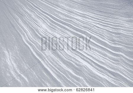 Abstract snow and texture