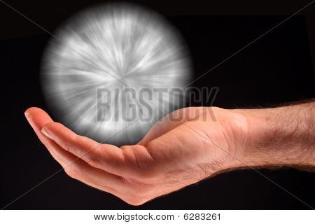 White Ball Of Light
