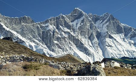 Lhotse Mountain.