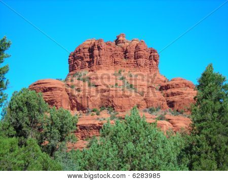 roten Felsen