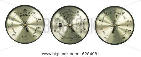 Thermometer Hygrometer Barometer