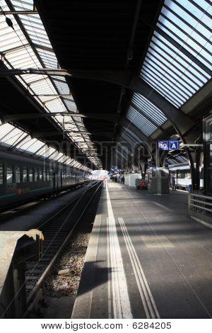 Railroad-station