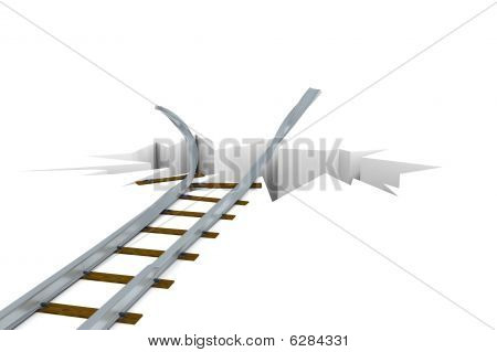 Damaged Railway