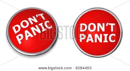 Red Don't Panic Button