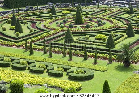 PATTAYA, THAILAND - NOVEMBER 11: Nong Nooch Tropical Garden in Pattaya on november 11, 2012 in Thailand