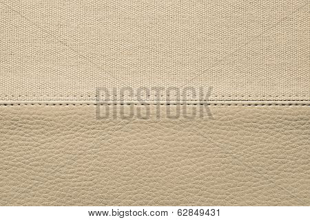 Background From Textures Of Skin And Fabric