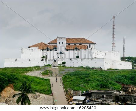 Elmina Castle In Ghana Near Accra
