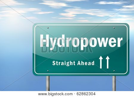 Highway Signpost Hydropower