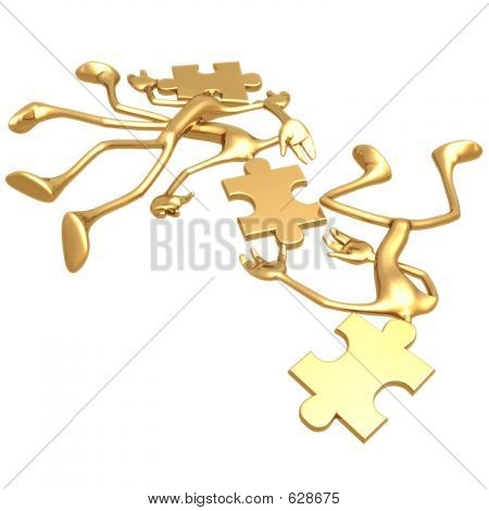 Collapsed Puzzle Pieces
