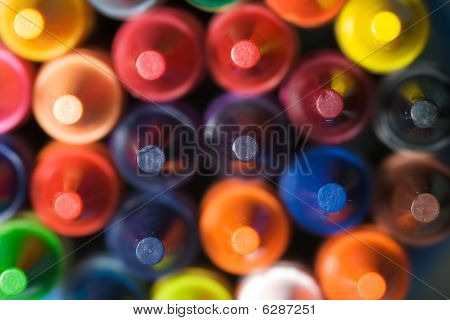 Stacked Crayons