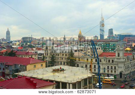 Construction Site In Batumi