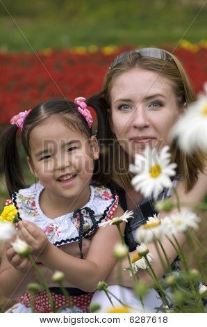 Hijas y madres felices