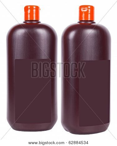 Brown Liquid Soap Containers