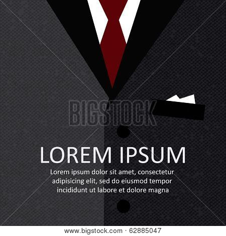 Business suit background