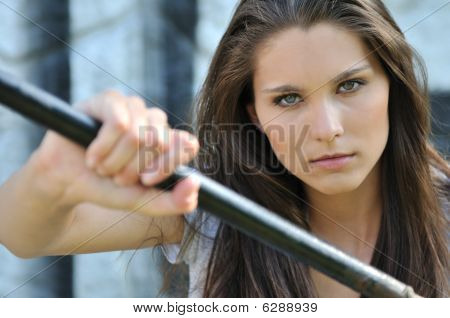 Young Beautiful Cool Teen Woman - Portrait