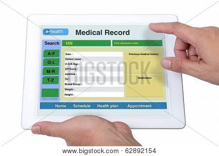 E-health Information.