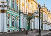 foto of winter palace  - Winter Palace in Saint Petersburg Russia architecture - JPG