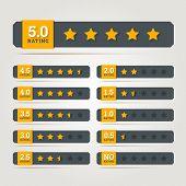 pic of status  - Rating stars badges - JPG
