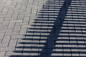 Cobbles And The Shadow Of The Fence