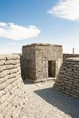 image of world war one  - Bunker pillbox great world war 1 flanders belgium - JPG