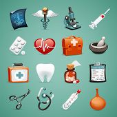 stock photo of roentgen  - Medical Icons Set1 - JPG