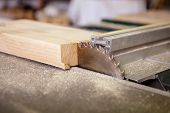 foto of joinery  - Circular saw sliced  - JPG
