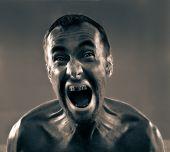 Screaming Dirty Man